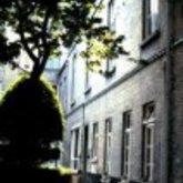 Kattestraat - Oudemannenhuis - binnentuin - stadsgebouwen - Aalst - 1979