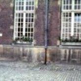 Grote Markt - stadhuis - binnenkoer - lengtemaat - Aalst - 1979