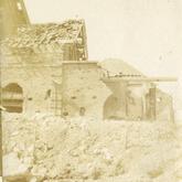 Beschadigde gebouwen - Pervijze - 1917