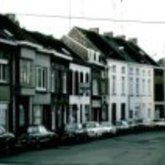 Gentsestraat - woningen - winkelpanden - caf - Aalst - 1980