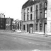 Foto - vernielingen - Boudewijnkaai - Aalst - 1940