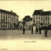 Postkaart - Stationsplein - Aalst