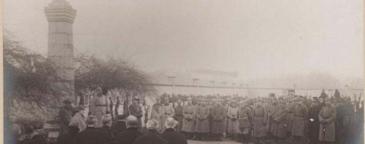 Inhuldiging Duits militair kerkhof - Aalst - 1916
