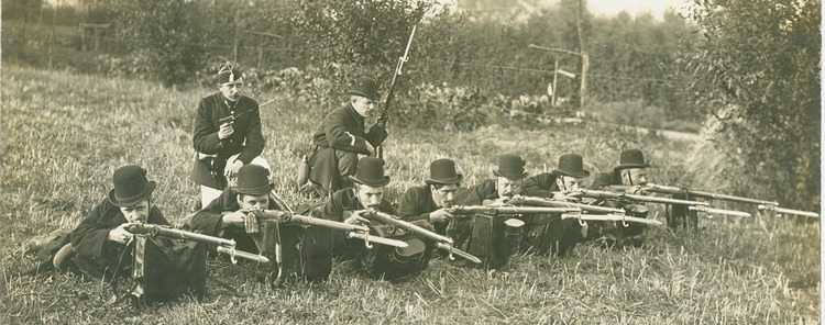 Burgerwacht - infanterie - 1914