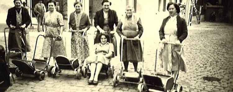 Hoge vesten kermis - Aalst - 1955