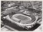 Luchtfoto van het Olympisch Stadion, Stadionplein 20, en omgeving gezien in noor…