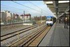 Metrostation Holendrecht met perron 1