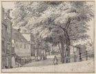 Herengracht 371-395 gezien van Wijde Heisteeg naar de brug over de  Beulingsloot…