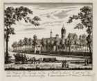 De Hofstede het Toorentje van den Heer Willink op den Amstelveensen Weg