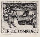 """Gevelsteen """"In De Lompen"""""""