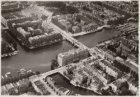 Luchtfoto van de Amstel en omgeving gezien in zuidoostelijke richting
