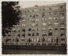 Achterzijde van flatgebouw Oranjehof