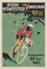 Affiche voor de Internationale Wegwedstrijd in het Vondelpark op 22 september