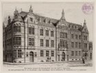 Kweekschool voor de Zeevaart, Prins Hendrikkade 189, hoek Schippersgracht 1. Tec…