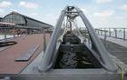 Fiets- en voetgangersbrug De Ruijterkade