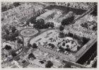 Luchtfoto van het Frederiksplein en omgeving gezien in noordoostelijke richting