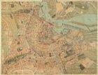 Amsterdam. Verso: Plattegrond van Amsterdam. 1917. Met alphabetisch register der…