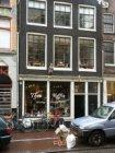Haarlemmerdijk 43 (ged.)-45-47 (ged.) (v.l.n.r.) met op nr. 45: exterieur van ko…