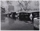 Amstel. Wintergezichten gezien naar Torontobrug (brug 350)