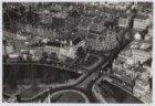 Luchtfoto van het Leidseplein en omgeving gezien in noordwestelijke richting
