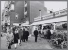 Oliebollenkraam van A.K. Stuy & Zn. in de Kinkerstraat