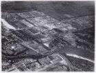 Luchtfoto van de nieuwbouw in Buitenveldert gezien in noordoostelijke richting