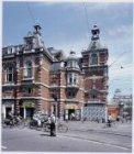 Leidseplein 26 met het exterieur van de Stadsschouwburg