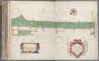 Kaart 63 met zeventien gemeten percelen gasthuisland gelegen op de oostelijke oe…