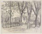 """De boerderij """"Diemervreugd"""", Oud Diemerlaan 85, Diemen gezien uit oostelijke ric…"""
