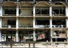 Sloop van het voormalige Stationspostkantoor, Oosterdokskade 5, voor de bouw van…
