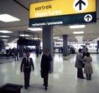 Het gedeelte tussen aankomsthal Zuid en Noord van Schiphol