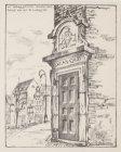Het Waaggebouw | Amsterdam. Poortje van het St. Lucasgilde