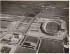 Luchtfoto van het Olympisch Stadion, Stadionplein 20, en omgeving gezien in zuid…