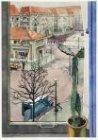 Van Tuyll van Serooskerkenplein gezien vanuit een raam aan de Achillessstraat