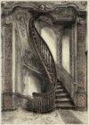 Het portaal met trap van Herengracht 168