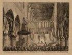 Beëdiging der Grondwet in de Nieuwe Kerk te Amsterdam den 22e Maart 1814