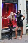 Funny Photoshot, 'Your picture taken in an Amsterdam Red Light Window'