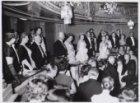 Eerste officieel bezoek prinses Beatrix, bezoek aan de Stadsschouwburg aan het L…