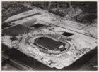 Luchtfoto van het Olympisch Stadion, Stadionplein 20, in aanbouw