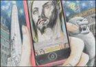 Een El Grecokop op Grindr