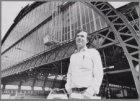 Paul Haenen, gefotografeerd bij de overkapping van het Centraal Station voor de …