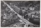 Luchtfoto van het Muntplein en omgeving gezien in zuidwestelijke richting