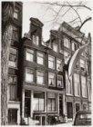 Herengracht 407 (ged.)-411 (v.l.n.r.). De situatie voor de restauratie
