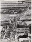 Luchtfoto van het Stadionplein gezien in zuidelijke richting. De optocht van het…