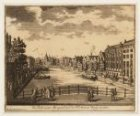 De Kloveniers Burgwal naa de St. Antonis Waag te zien