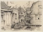 Spaarndammerdijk 663-667 en gezicht op tuin en achterzijde van de voormalige her…