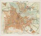 Amsterdam Schaal 1:10000. (recto); Platte Grond van Amsterdam in 1926 met alle n…