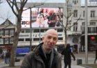 'Op de foto voor Haïti op het Rembrandtplein'