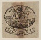 Vignet van tabakshandel Arnoldus Dikken