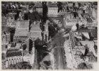 Luchtfoto van het Leidseplein en omgeving gezien in noordelijke richting
